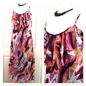 Essentials By Milano Long Maxi Dress Size 12 NEW